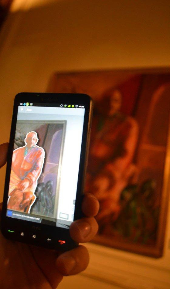 """Realidad Aumentada en """"La Noche de los Museos 2012″"""