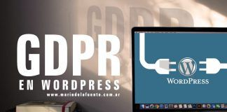 GDPR y Wordpress