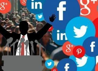 Redes sociales en la politica