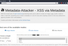 Metadata-Attacker | Generar archivos multimedia con metadatos maliciosos