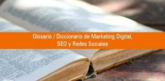 Glosario de marketing digital y seo