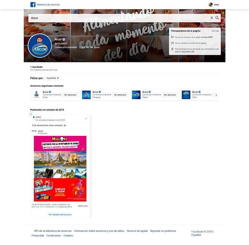 Facebook Ad Library | biblioteca de anuncios de facebook