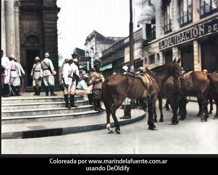 Foto coloreada de tucuman