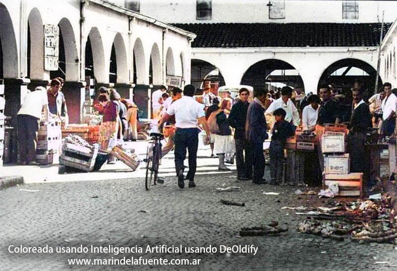 Mercado de Abasto Tucuman - Coloreada