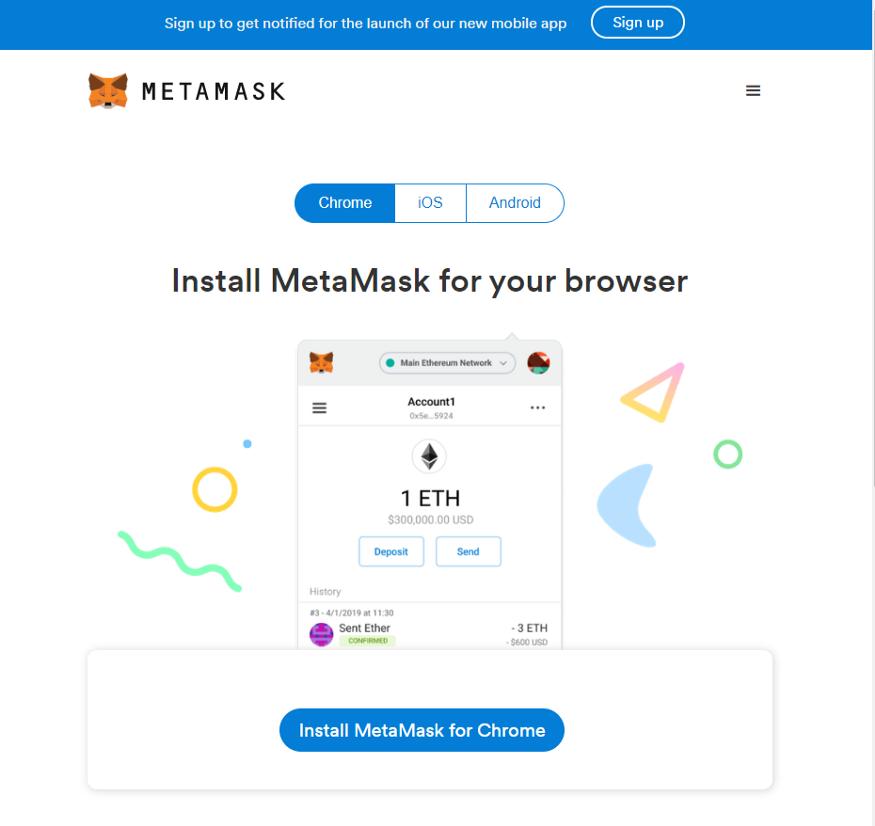 MetaMask pagina oficial
